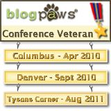 BlogPaws 3 time Attendee.png
