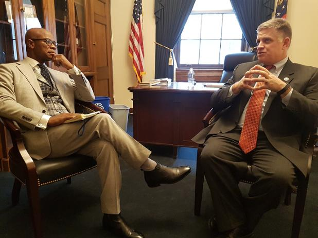 Clarence and Rep Drew Ferguson small.jpg