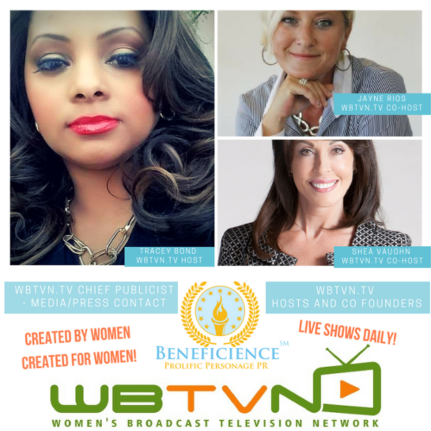 WBTVN.tv Womens Broadcast Television Network - Increasing Exposure - Getting Expsoure - Growing Exposure with Women For Women - Meet The WBT