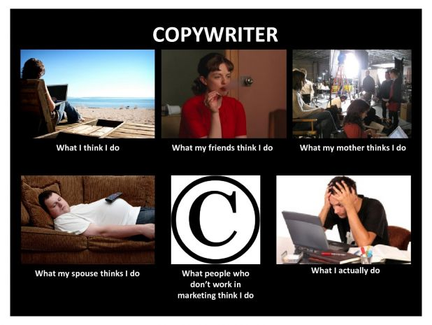 sHiF How Others View Copywriters