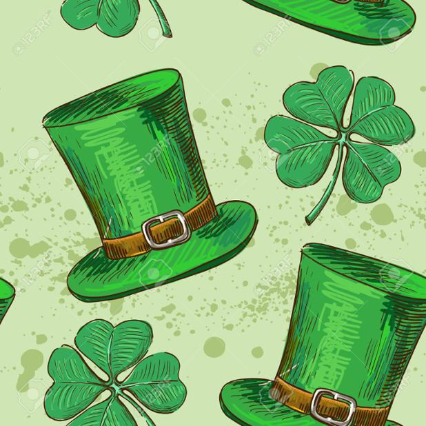 25471842-Seamless-pattern-Doodle-style-four-leaf-clover-luck-or-St--Stock-Photo.jpg