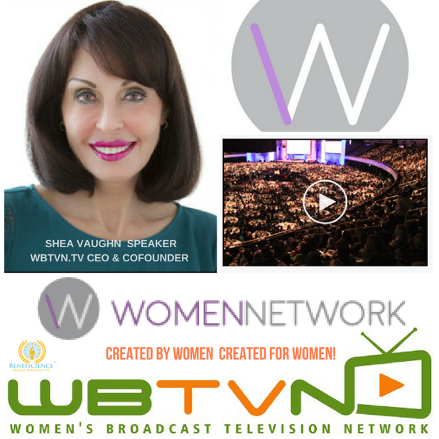 WBTVN.tv Womens Broadcast Television Network - Shea Vaughn Speaker Women Network California Womens Conference May 10 and 11.png