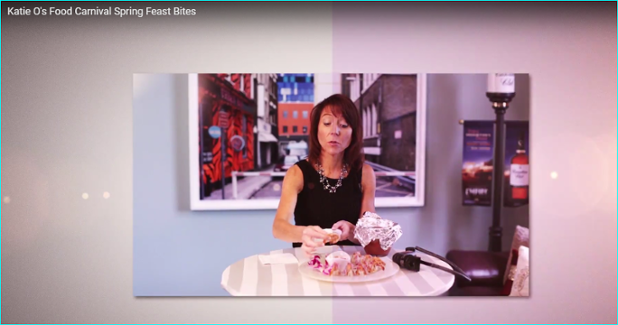Katie Os Food Carnival Wednesday Show on WBTVN.tv - Beneficience PR.PNG