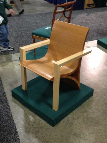 Modern Chair, Juan Pablo Blanco, Best in Show, Best Craftsmanship, Best Student Work