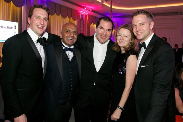 Claridges Dinner - Andy Simpkin, Rahul Moodgal, Dominic Freemantle, Lucy Elwes and Will Smith.jpg