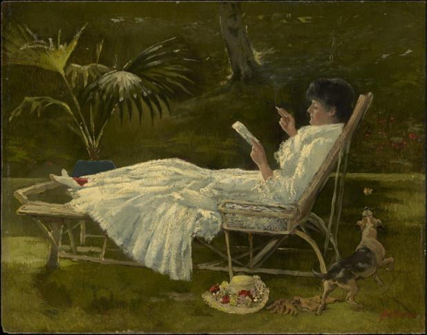 1955.638.Barber.woman reading.jpg