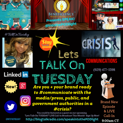 Lets #TalkOnTuesday about- Crisis Communications Planning BlogTalkRadio.com%2FSpeakIntoThePodlight (1).png