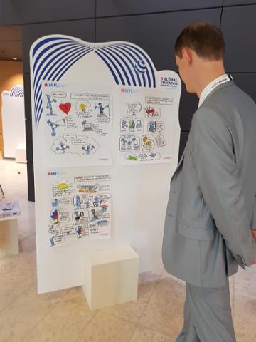 Drawnalism - Innovation in education - at #GEIS2017 - © Drawnalism Ltd.jpg