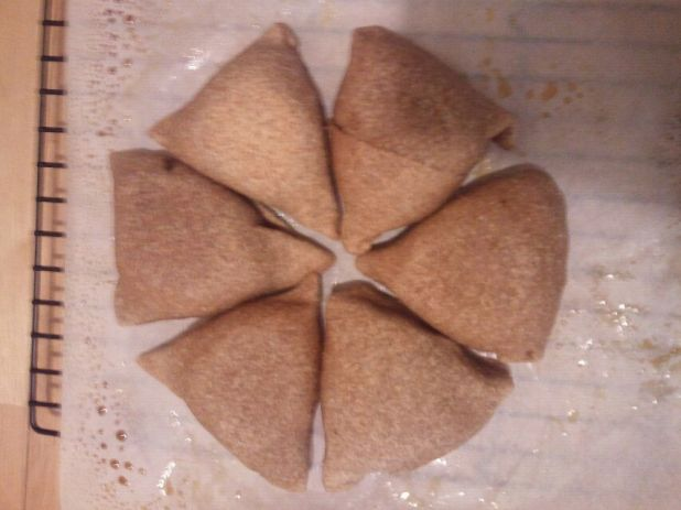 Vegan Whole-wheat Samosas