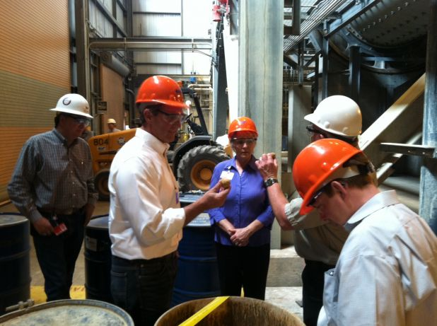 Congressman Jeff Flake tours the Navajo Generating Station in Page, Arizona.jpg