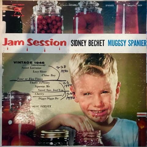 Jam Session - Sidney Bechet & Muggsy Spainer vinyl record.jpg