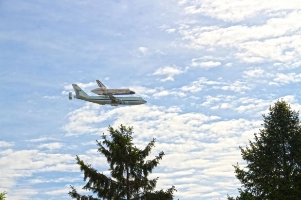 discovery shuttle in crystal city.jpg