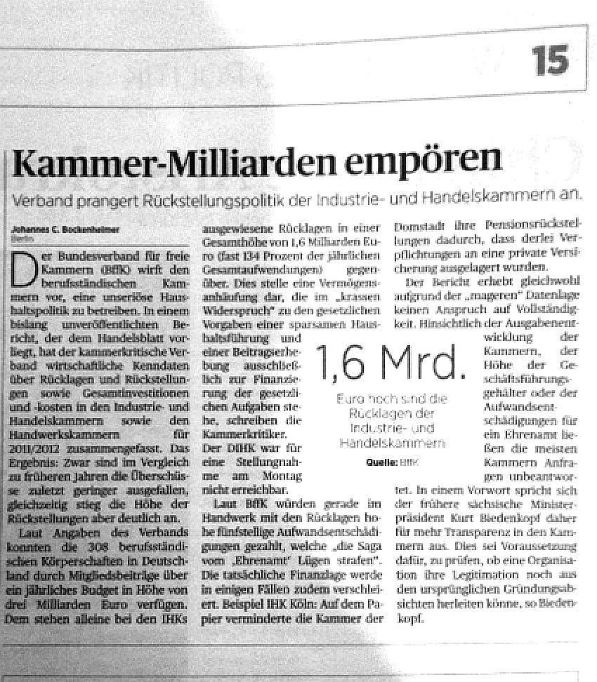 #IHK-'Kammer-Milliarden empören' HANDELSBLATT (16.OKT;2012.jpg