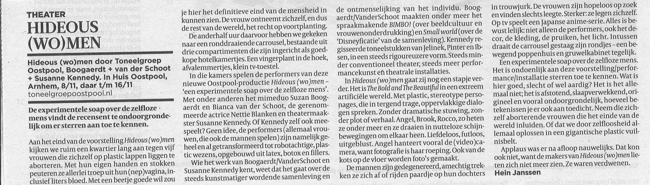 Hideous (wo)men - recensie Volkskrant.jpg
