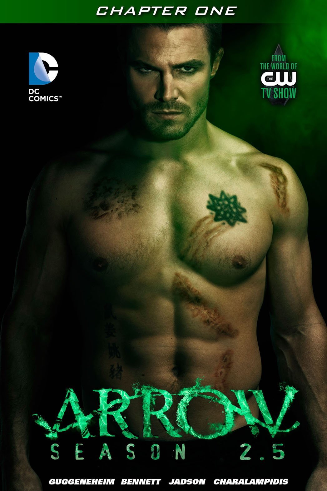 Arrow Season 2.5 #1 - Cover (Final).png