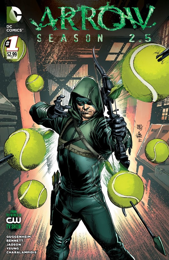 Arrow Season 2.5 #1 - Ivan Reis Variant Cover (Final).jpg