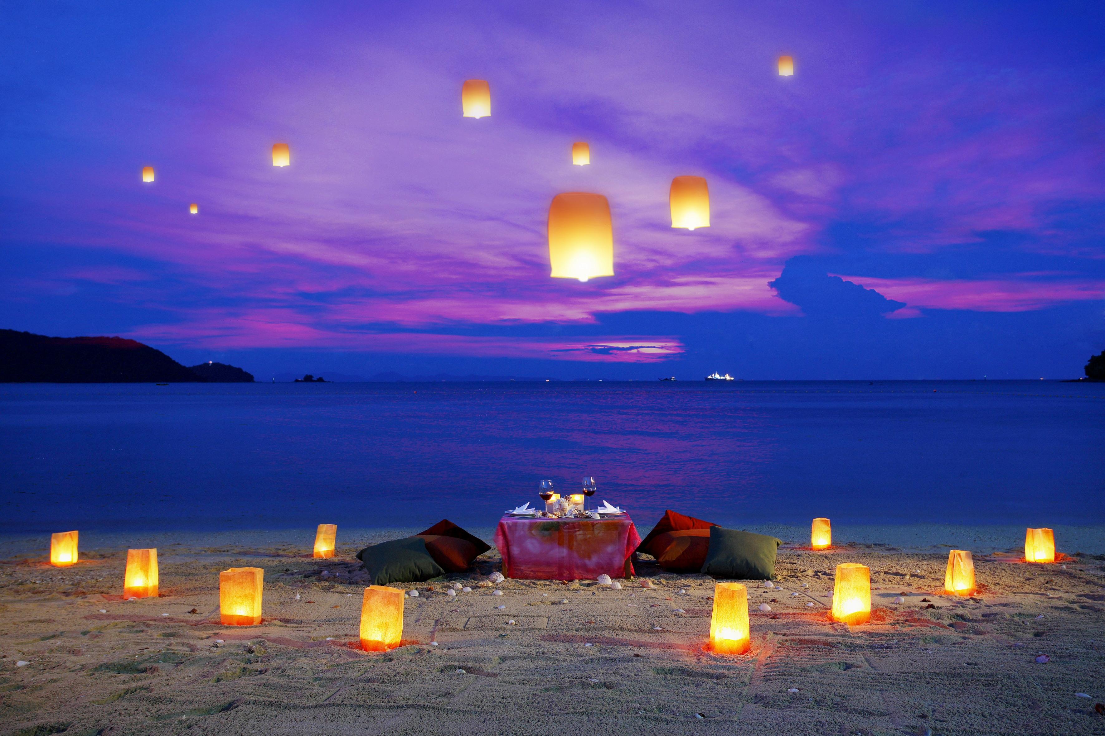 Фото ночью на пляже 19 фотография