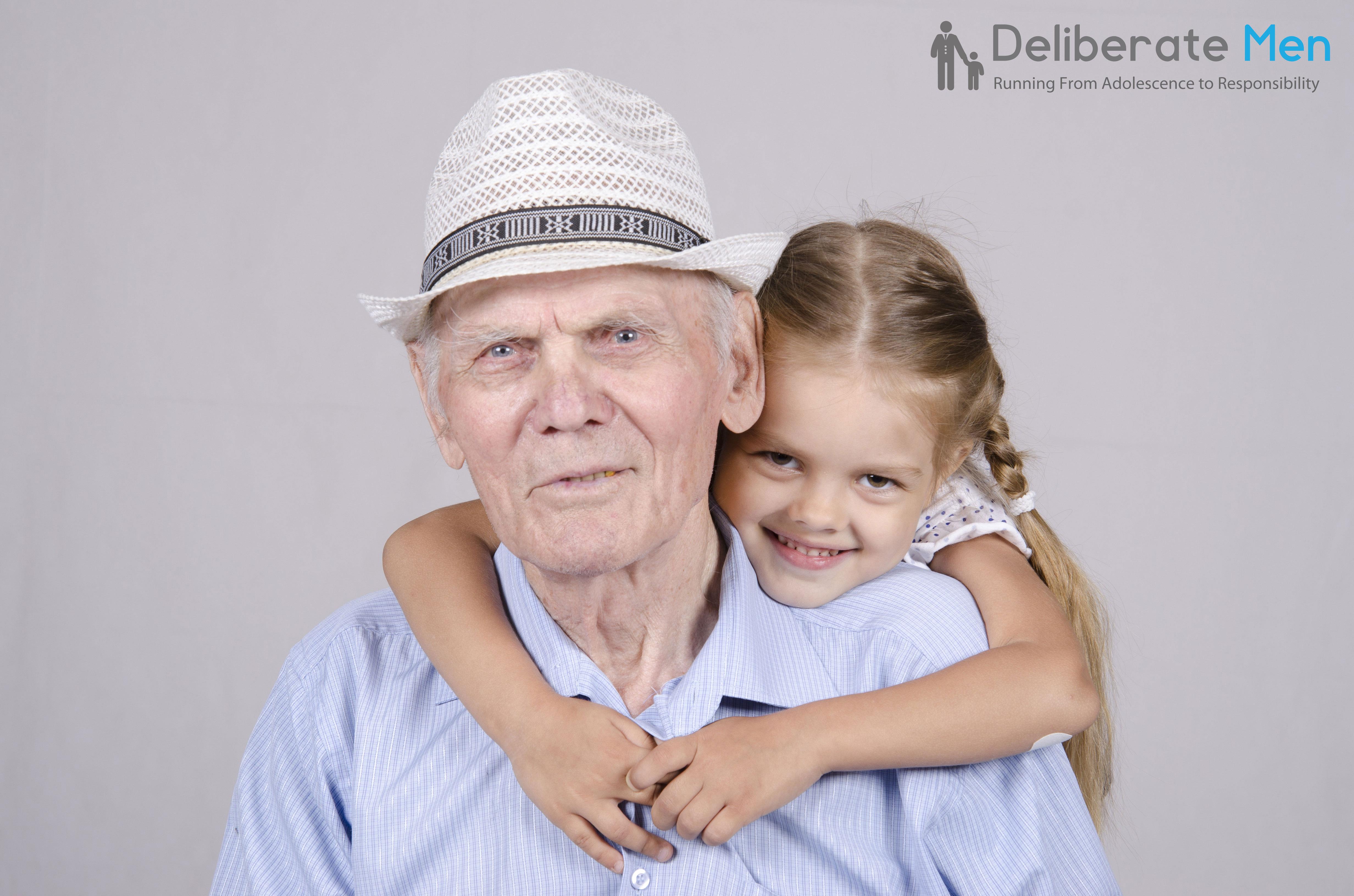 Три старика и внучка 10 фотография