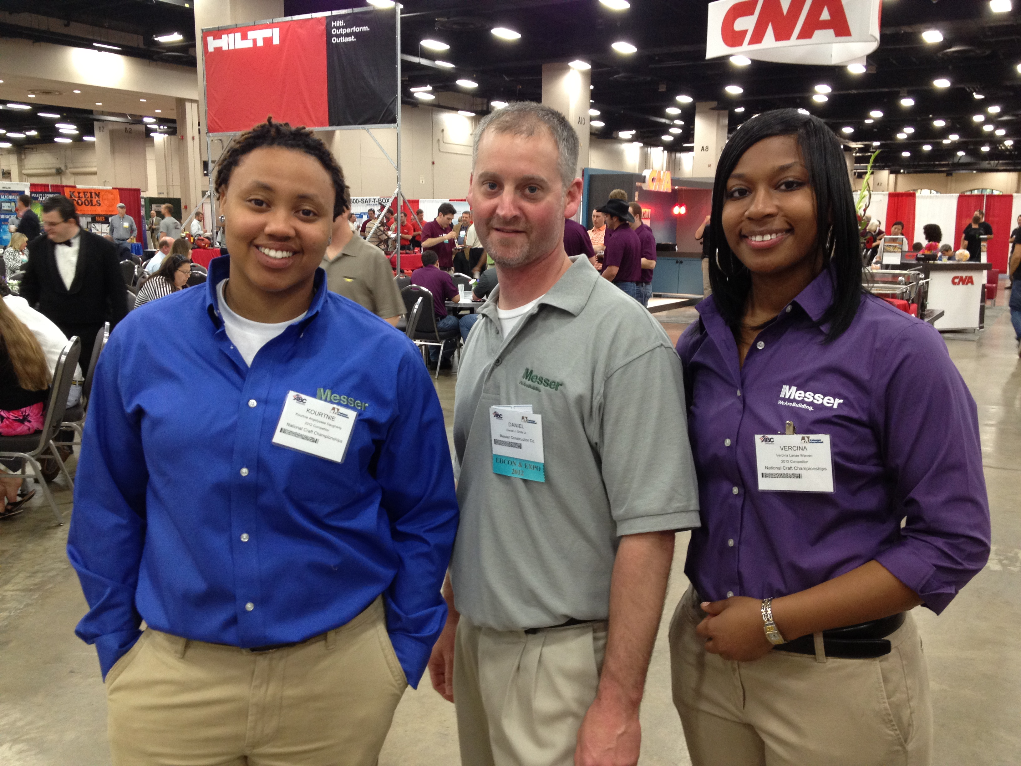 Kourtnie Daugherty, Dan Grote, Jr., Vercina Warren_Messer Construction Co..jpg