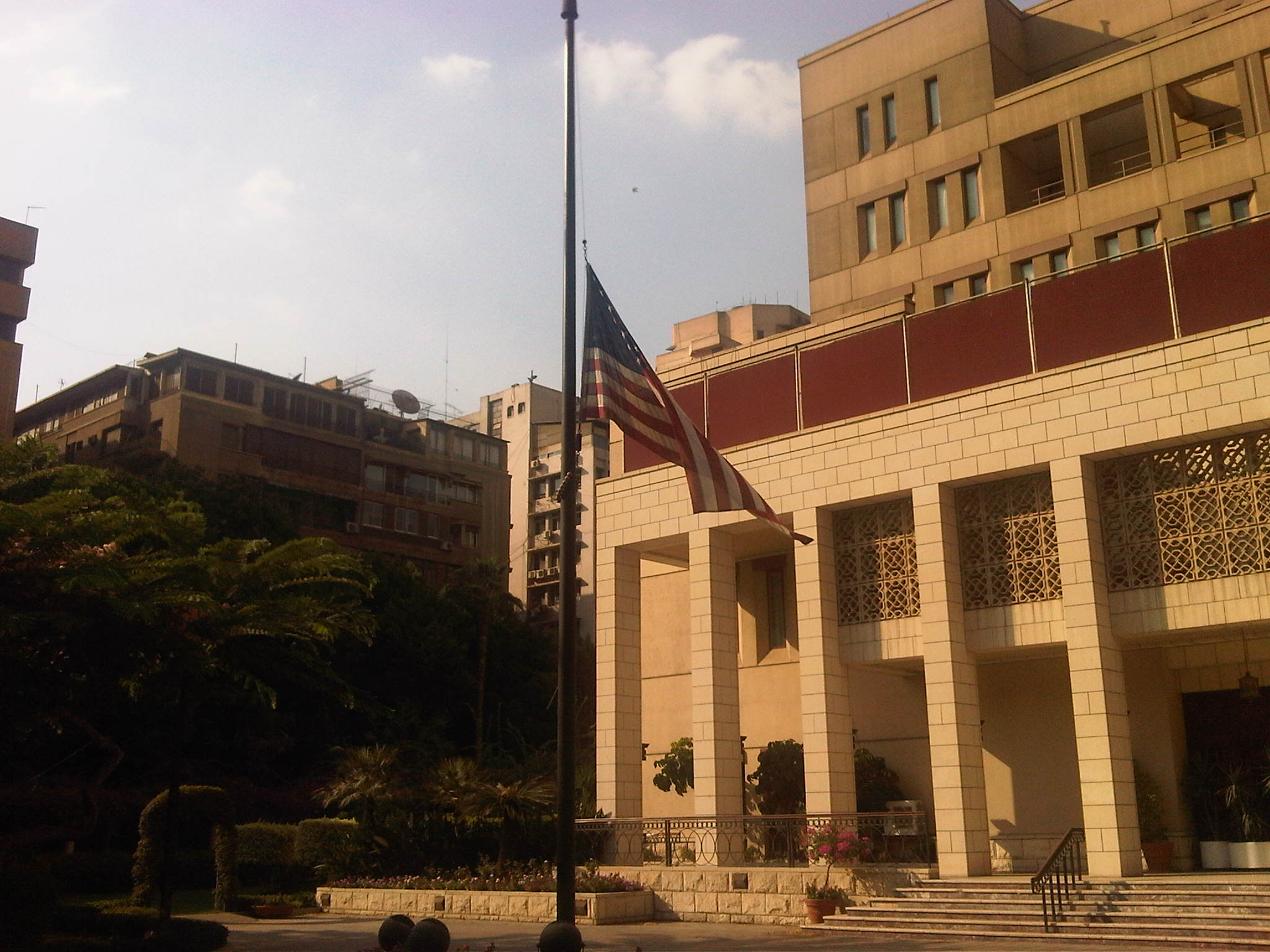 USA Flag at Embassy on Sept 12.jpg
