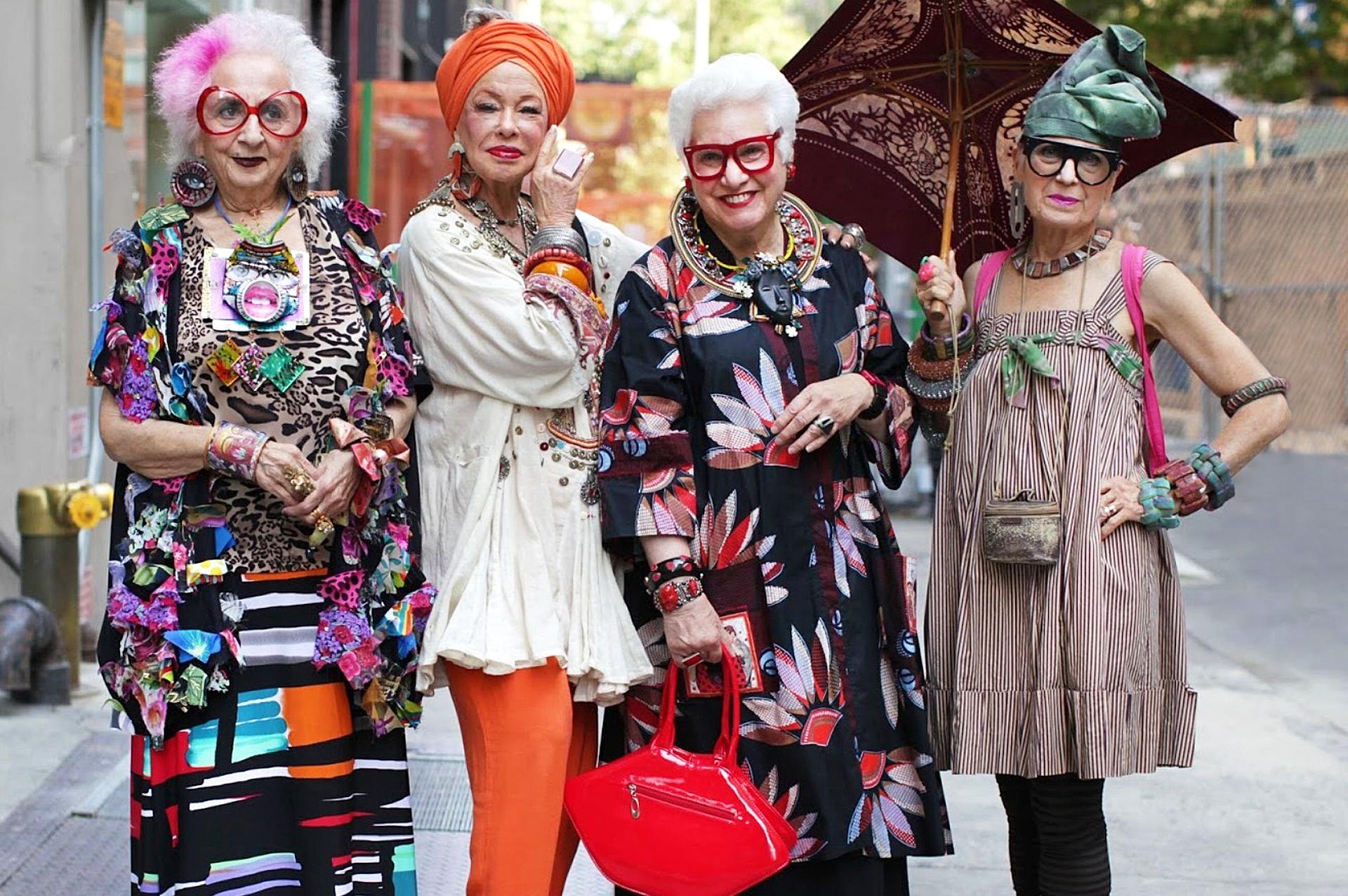 Фото старых модных бабушек 18 фотография