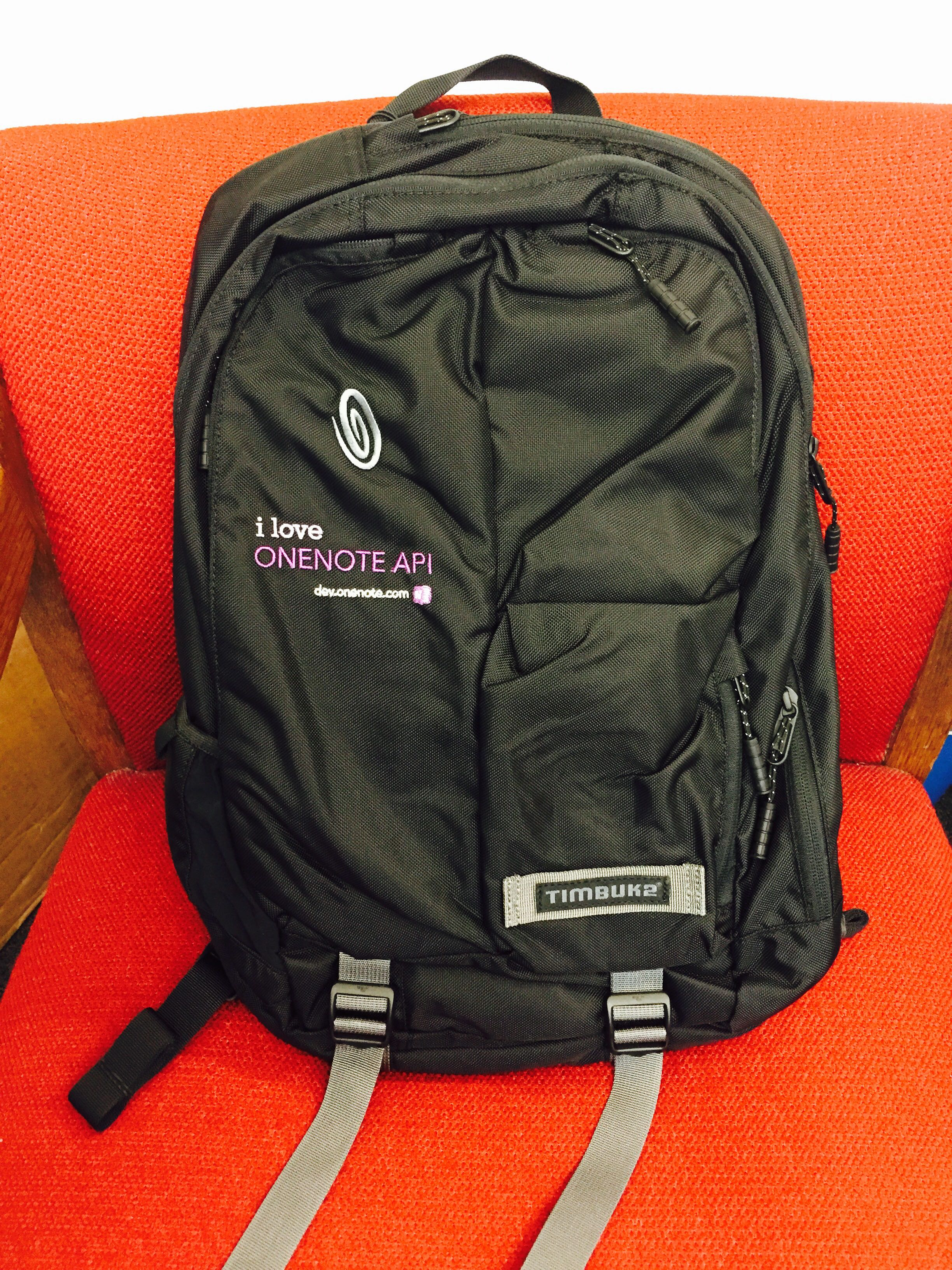 awesome OneNote API backpack