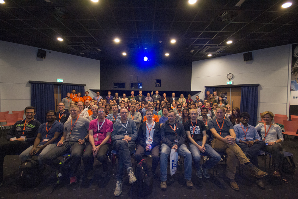 Space UP NL 2015 group photo