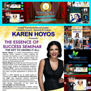 Karen Hoyos and Tracey Bond, PhJrn-Publicist Share -The Essence Of Success Webinar May 2nd 2016 on SPEAKINTOTHE PODLIGHT PRodcast Show on ep