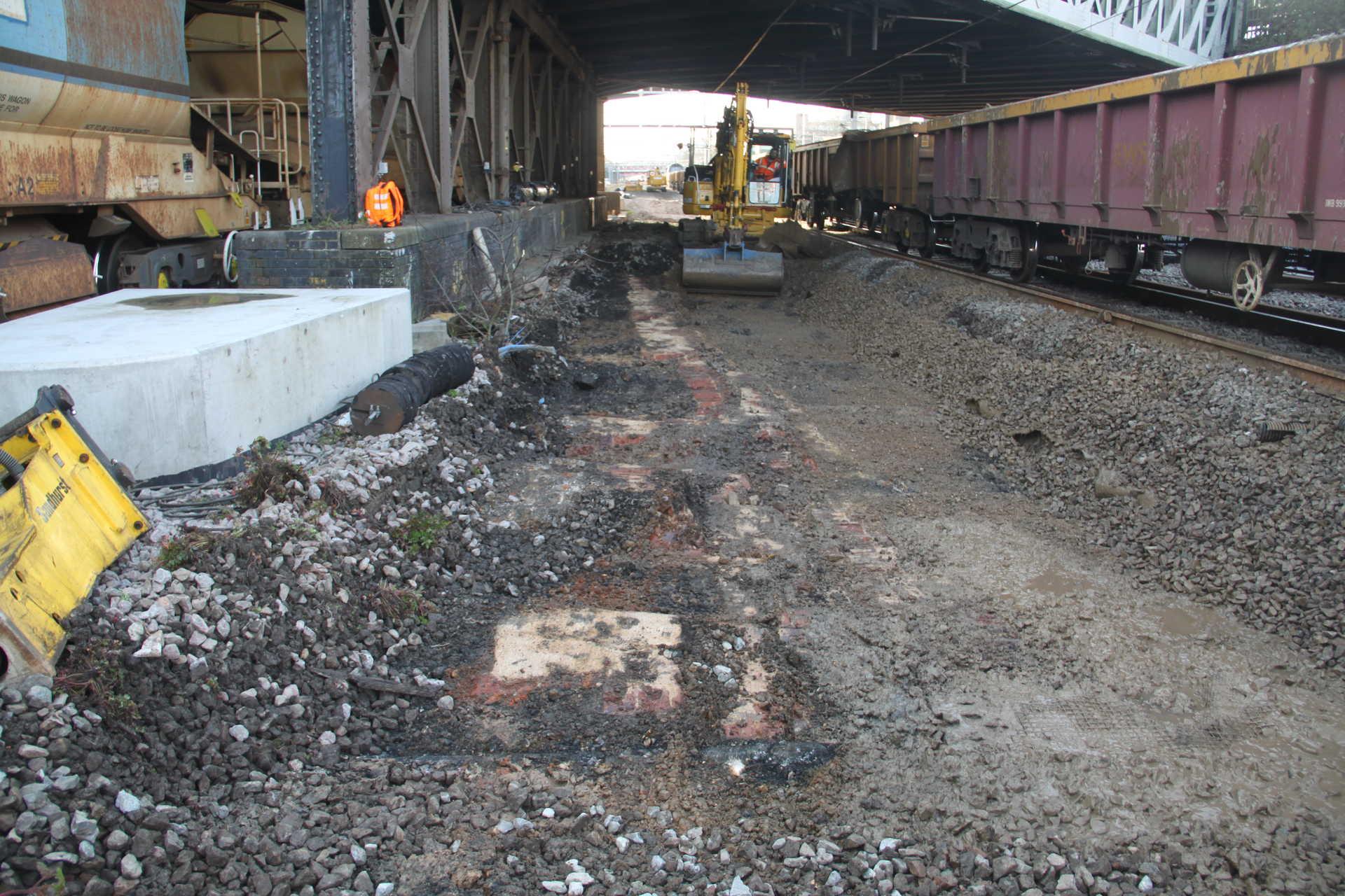 Part of a former engine shed - NR archaeology Paddington_239014.jpg