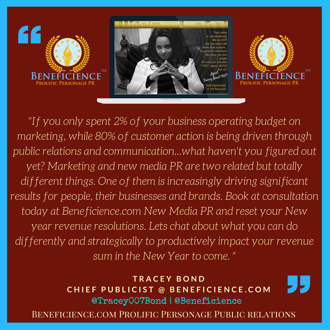 If you've only spent 2 % of your business operating budget on marketing...@Tracey007Bond at Beneficience.com.png