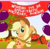 Thumbnail of a photo from user MyLittlePony called MLP - 19920 - November Birthday Ponies Edit.png