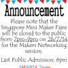 Thumbnail of a photo from user SingaporeMMF called Announcement.jpg