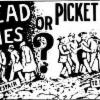 Thumbnail of a photo from user drovics called picket lines or bread lines.jpg