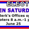 Thumbnail of a photo from user ClerkEPC called ElectionNews Primary2016OpenSaturday.jpg
