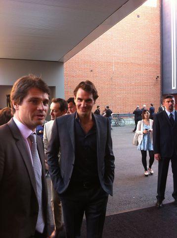 Roger Federer à Baselworld 2013 – © Baselworld
