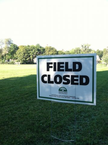 Weeks Field is closed…but for what and for how long?