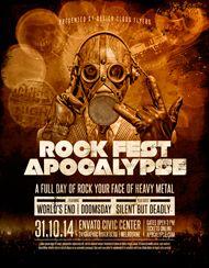 Design Cloud: Rock Fest Apocalypse Flyer Template