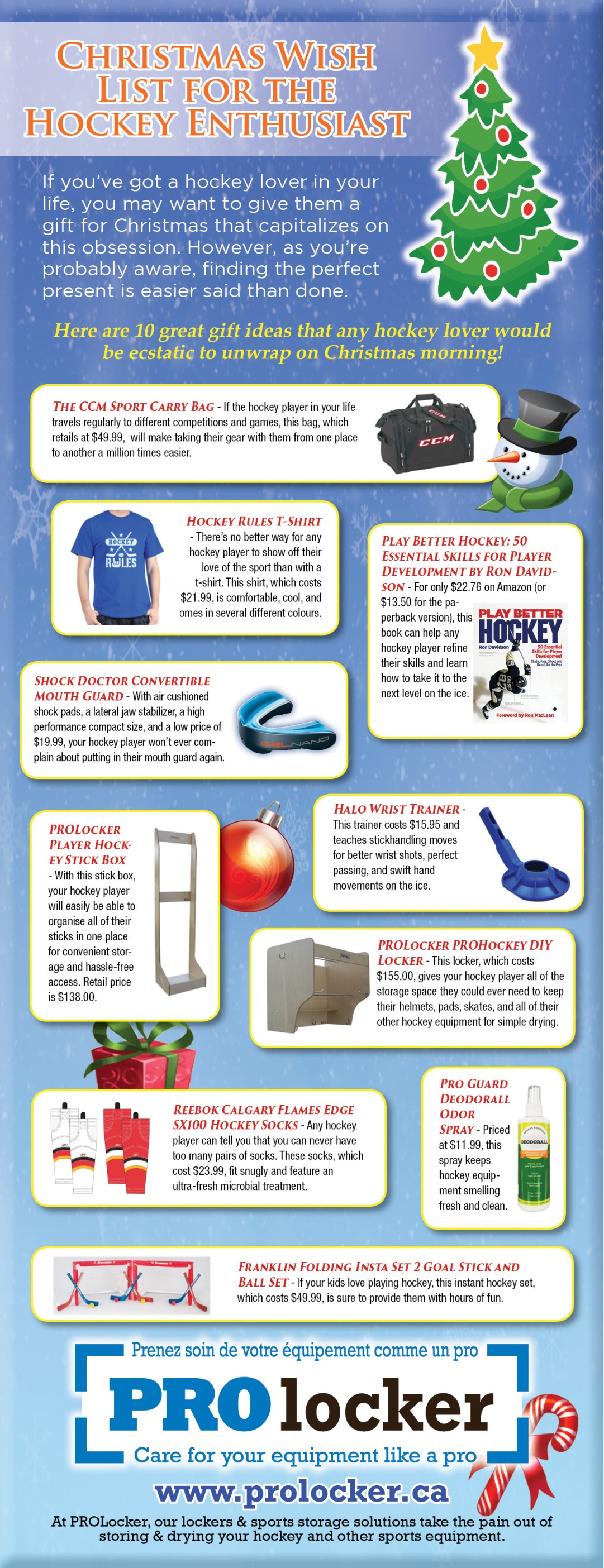 hockey christmas wishlist